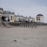 Blick vom Strand auf den Musik-Pavillon / Bild: JBM|News